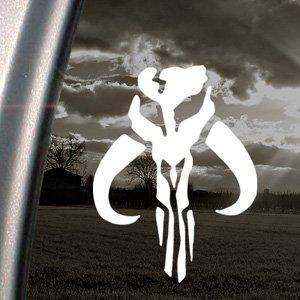 Mandalorian Skull Boba Fett Decal