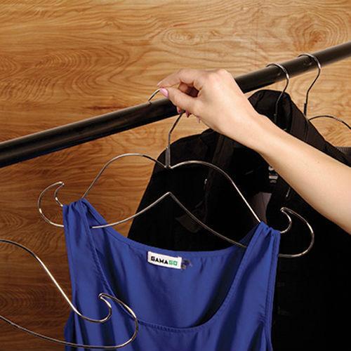 Mustache Clothing Hangers