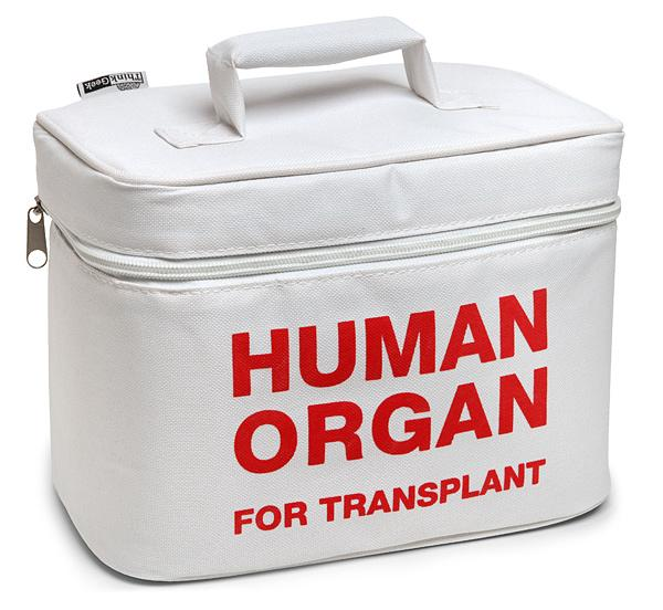 Organ Transport Lunch Bag