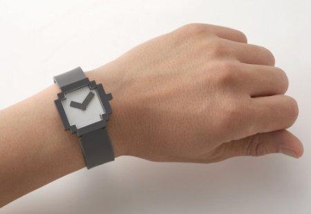 Pixelated 8-Bit Watch