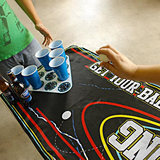Portable Beer Pong Game