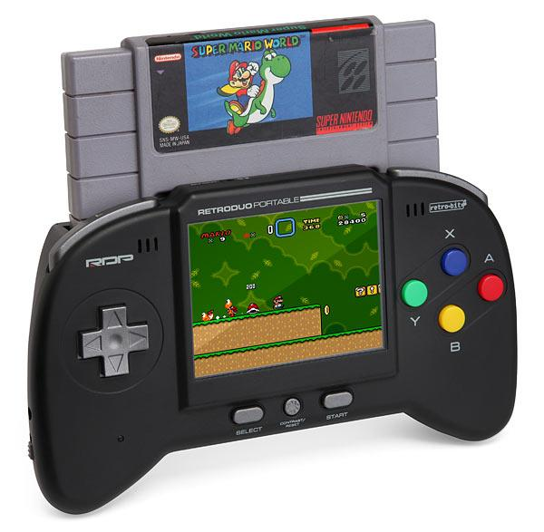 Portable Snes Nes Gaming System The Coolest Stuff Ever