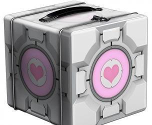 Portal Companion Cube Lunch Box