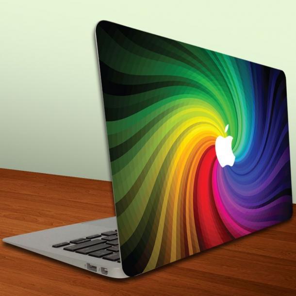 Rainbow Swirl Decal For Macbook Air/Macbook Pro
