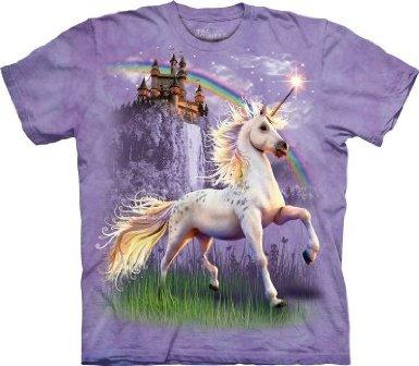 Majestic Rainbow Unicorn T-Shirt