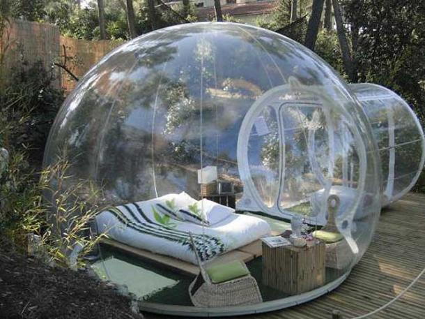 See-Through Bubble Tent