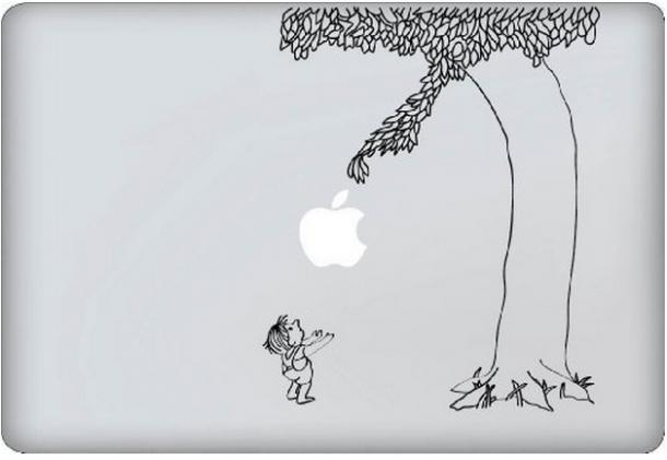 Macbook Giving Tree Decal