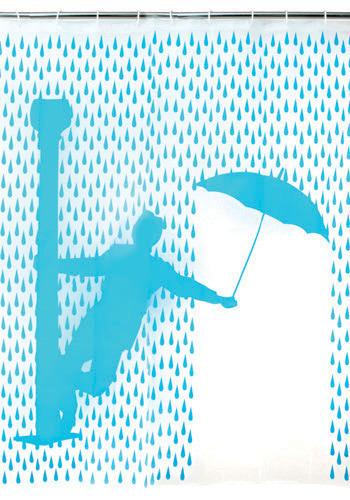 Singing In The Rain Shower Curtain
