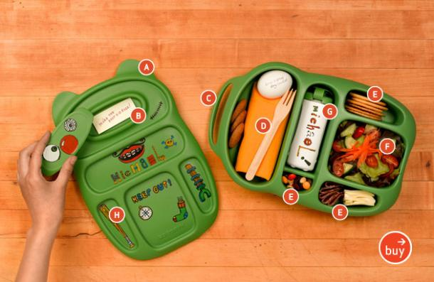 Smart and Eco-Friendly Kids Lunchboxes by Goodbyn