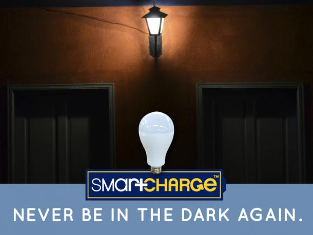 Smart Charge LED Bulb