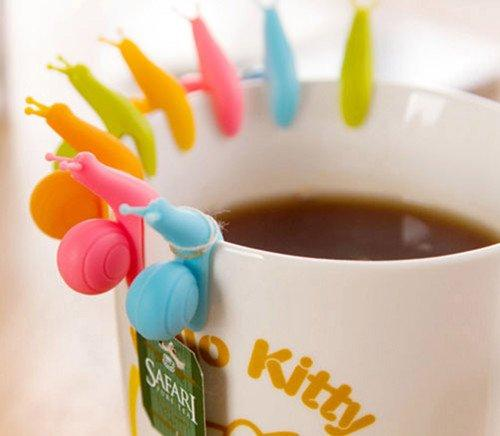 Cute Snail Tea Bag Holders