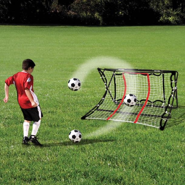 Ball Returning Soccer Training Net The Coolest Stuff Ever