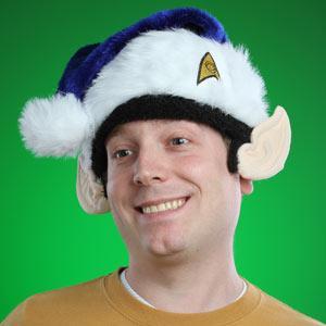 Star Trek Spock Santa Hat