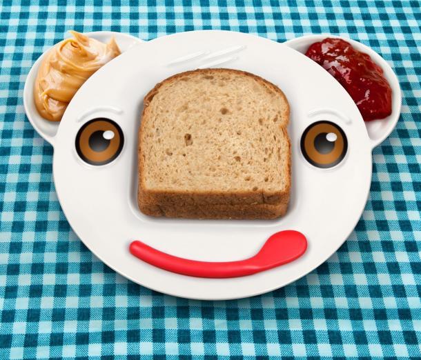 Spreddy Bear Sandwich Plate