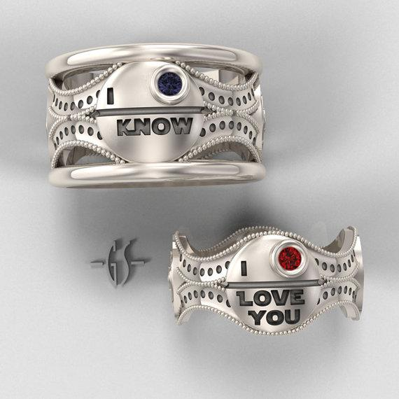 Star Wars His And Hers Rings