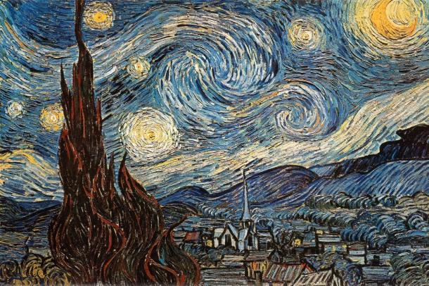 Starry Night Vincent van Gogh Poster