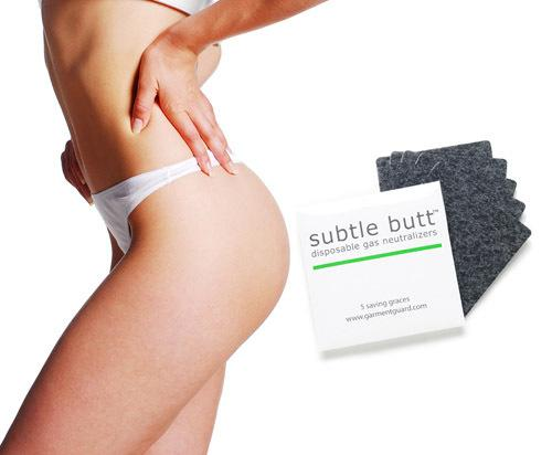Subtle Butt: Disposable Fart Filters