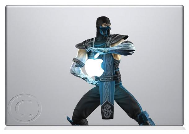Sub-Zero Macbook Sticker