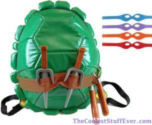 Teenage Mutant Ninja Turtles Kids Shell Backpack