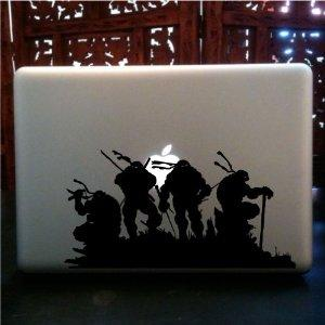 TMNT - Ninja Turtles Macbook Sticker