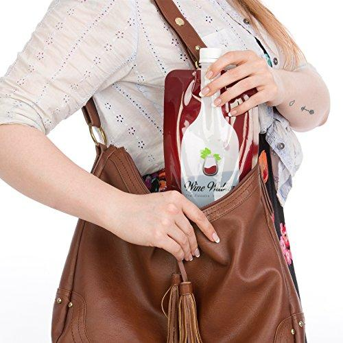 Unbreakable Foldable Travel Wine Bag