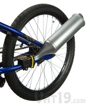 TurboSpoke Bicycle Exhaust System