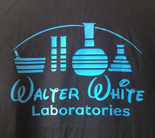 292a7b3eb Walter White Laboratories T-Shirt | The Coolest Stuff Ever