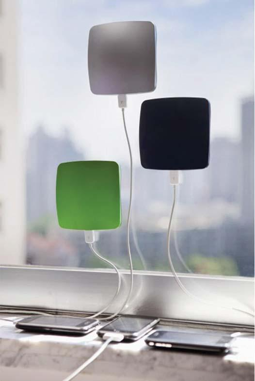 Window Cling Solar Phone Charger