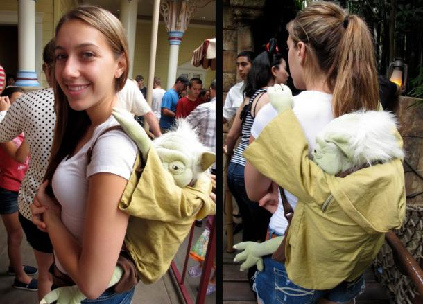Star Wars Yoda Backpack The Coolest Stuff Ever