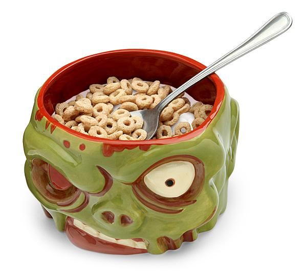 Zombie Cereal Bowl