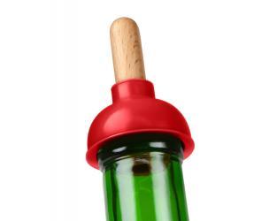 Plunger Wine Bottle Stopper