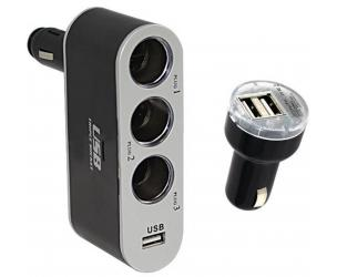 Car Lighter USB Phone Charger
