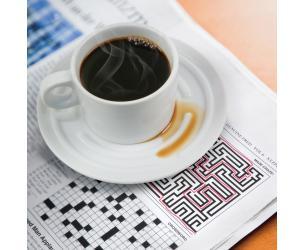 Coffee Cup Saucer Maze