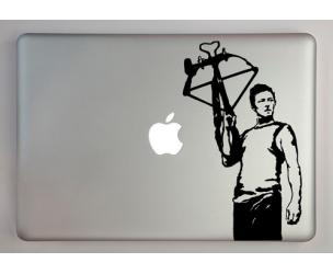 Walking Dead Daryl Dixon Laptop Decal