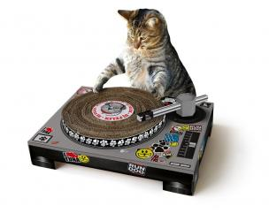 DJ Cat Scratch Mat