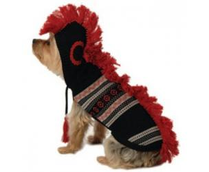 Dog Mohawk Hooded Sweater