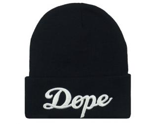 Black Dope Hat