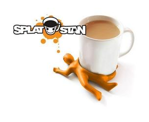 Splat Stan Drink Coaster