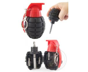 Hand Grenade Screwdriver Set