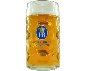 Hofbrauhaus 1 Liter Dimpled Beer Mug