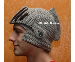 Knitted Knight's Helmet
