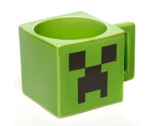 Minecraft Creeper Face Coffee Mug