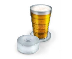 Port-A-Pint Folding Beer Glass