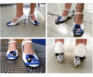 Star Wars R2-D2 Heels