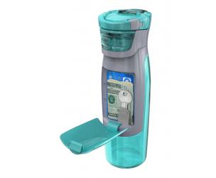 Runners Self-Sealing Water Bottle With Compartments