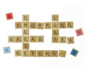 Scrabble Tile Fridge Magnets