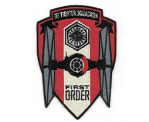 Star Wars First Order Tie Fighter Squadron Patch