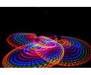 Strobing LED Hula Hoop