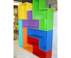 Stackable Tetris Shelves