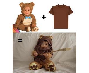 Toddler Ewok Costume
